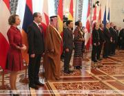 Послы 10 государств вручили Лукашенко верительные грамоты