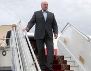 Лукашенко прилетел в Киев
