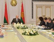 """Лукашенко: """"Год предстоит нелегкий"""""""