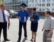 Председатель Следственного комитета Беларуси Иван Носкевич побывал в  Микашевичах и Лунинце