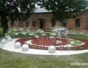 Столинские коммунальники создали одну из лучших клумб к областному празднику