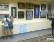 Новую выставку живописи открыли в Столине