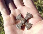 Ополченческий крест нашли в Пинском районе