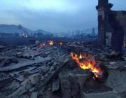 В Хакассии 900 жилых домов сожгли вместе с травой