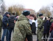В Пинском погранотряде новобранцы приняли присягу. Фоторепортаж