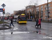В ближайшую субботу автобусы в Пинске будут ходить по особому графику