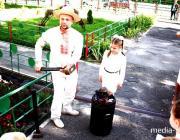 Младшеклассники пинской гимназии №1 на мгновение превратились в кузнецов