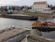 Стало известно, сколько стоит возведение временной переправы через реку Пина
