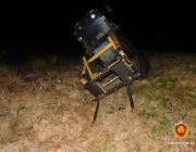 В Пинском районе пьяный водитель хотел угнать трактор. Чтобы вытащить другой, застрявший в кювете