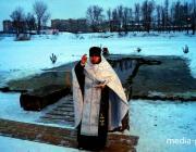 В Пинске освятят воду в ледяной купели