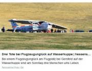 В Германии легкомоторный самолет врезался в толпу зрителей при посадке: три человека погибли