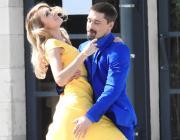 """В духе фильма """"Ла-Ла Ленд"""": Дима Билан снимает новый клип с Ксенией Сухиновой"""