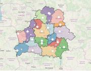 Убрать все области, ввести округа. Как может измениться карта Беларуси
