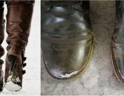 Ухаживай за обувью зимой правильно: простые советы, которые уберегут от разводов, пятен и разъедания кожи солью