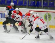 На хоккейном матче в Новопополоцке голкипер смог оформить шатаут