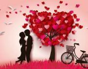 Ко Дню влюблённых. В выставочном зале