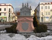 Пинские власти поддержали идею установки памятника взорванному костёлу