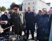 Пинские пограничники получили технику и оборудование на сумму более чем на 2,5 миллиона евро