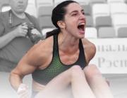 Прыгунья Ирина Жук установила национальный рекорд