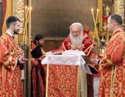 Архиепископ Пинский и Лунинецкий Стефан отслужил Великую вечерню в Свято-Феодоровском соборе