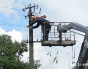 Плановое отключение электричества