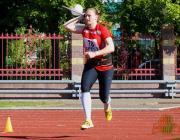 Пинчанка установила национальный рекорд в метании копья