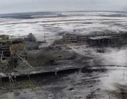 Рускія ў Данбасе ціснуць на ўсім фронце, украінцы пакінулі 31-ы блокпост