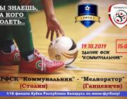 Столин и Ольшаны приглашают на футбольные матчи