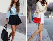 Как правильно сочетать длину юбки и высоту каблуков