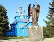 В Рубель доставили бронзовую скульптуру Архангела Михаила