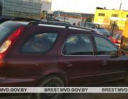 В Столинском районе пьяный мужчина отправился кататься на автомобиле сестры и съехал в кювет
