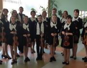 Лунинчане стали лучшими на конкурсе скрипачей