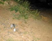 В Пинском районе хулигана нашли по отпечаткам пальцев