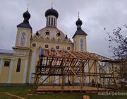 В Пинске на кафедральном соборе поменяют купола