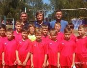 Лунинецкие футболисты взяли бронзу на международном турнире