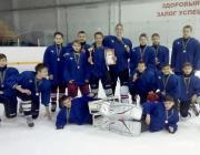 Путёвку в финал «Золотой шайбы» завоевали лунинецкие хоккеисты