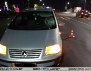 Девушка попала под колёса авто на пешеходном переходе