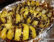 КАК запечь картофель с грибами в духовке