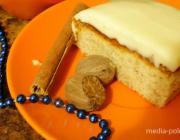 Имбирный пирог со сливочным кремом
