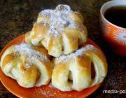 КАКая идея для завтрака - слоёные булочки с начинкой!