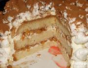 КАК подать торт «Нежные облака»