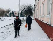 Календарная зима отметила свой приход снегом