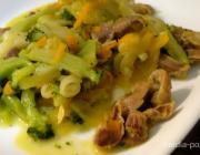 КАК куриные желудки тушить с овощами