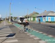 Пилотный проект осуществили для давид-городокских велосипедистов
