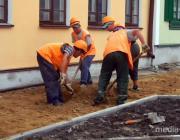 В Пинске начнут ремонтировать тротуары