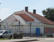 «Старый новый дом» появился у музея в Давид-Городке
