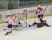 «Пинские ястребы» в матче с «Бобруйском» расправили крылья и вырвали победу в овертайме