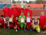 Лунинецкие футболисты стали победителями первенства Ивановского района