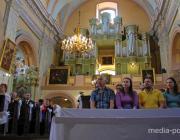 В Пинске завершается фестиваль органной и старинной музыки «Маці міласэрнасці»