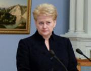На выборах президента Литвы одержала победу Даля Грибаускайте